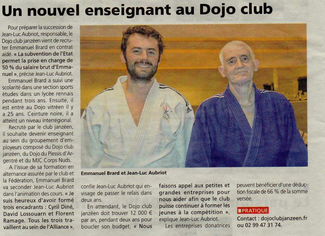 Article Journal de Vitré 02-02-18